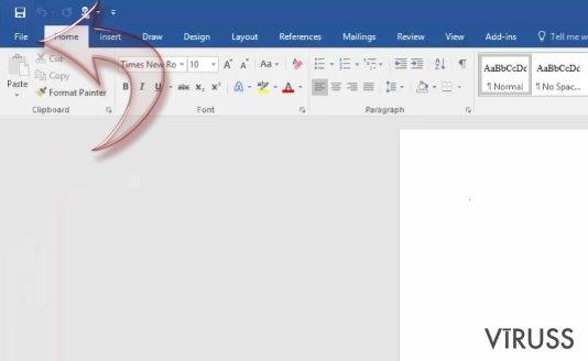 Kā atspējot makros uz Windows uz Mac OS X?