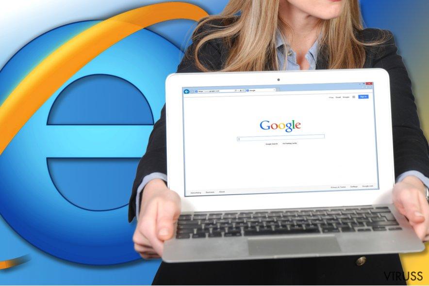 Kā atiestatīt Internet Explorer?
