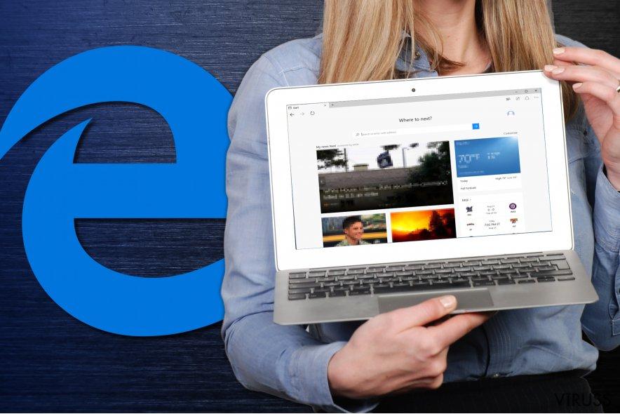 Kā atiestatīt Microsoft Edge?