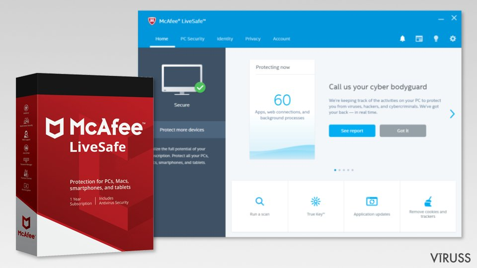 The image of McAfee LiveSafe