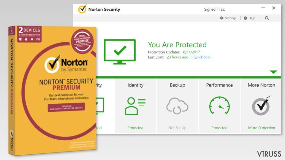 The image of Symantec Norton Security Premium