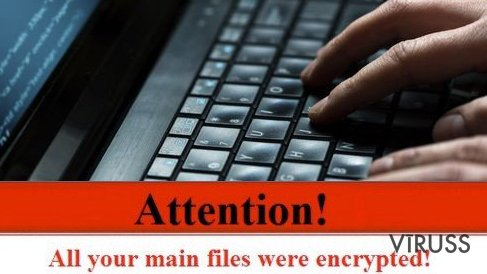 Ransomware protection warning