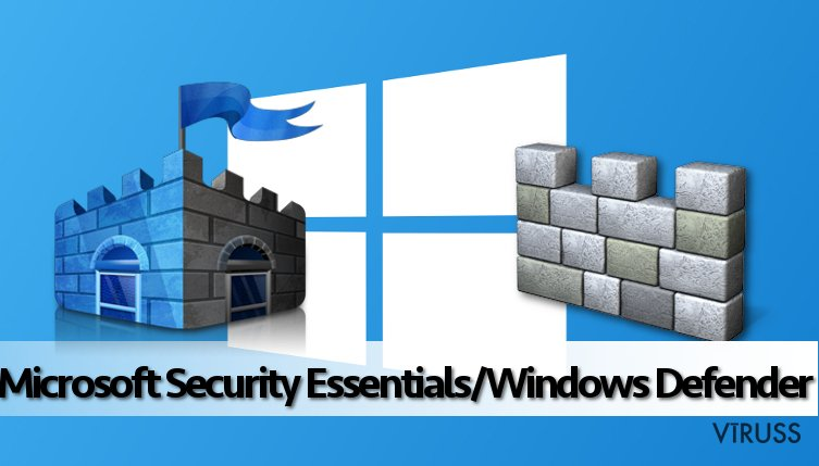 Microsoft Security Essentials/Windows Defender