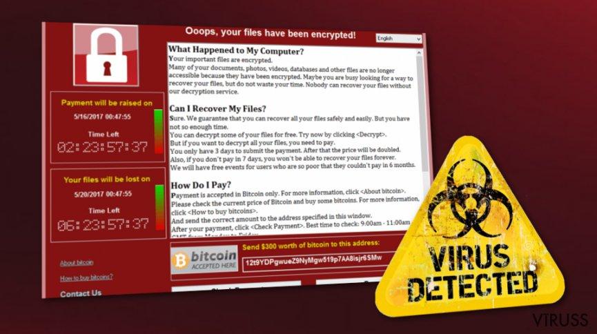 WannaCry vīruss ir aktīvs. Tūkstošiem lietotāju ir apdraudēti