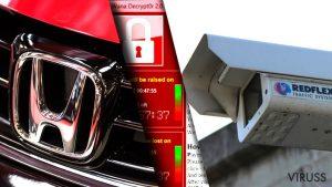 WannaCry turpina radīt paniku, Honda, RedFlex - vieni no vīrusa upuriem