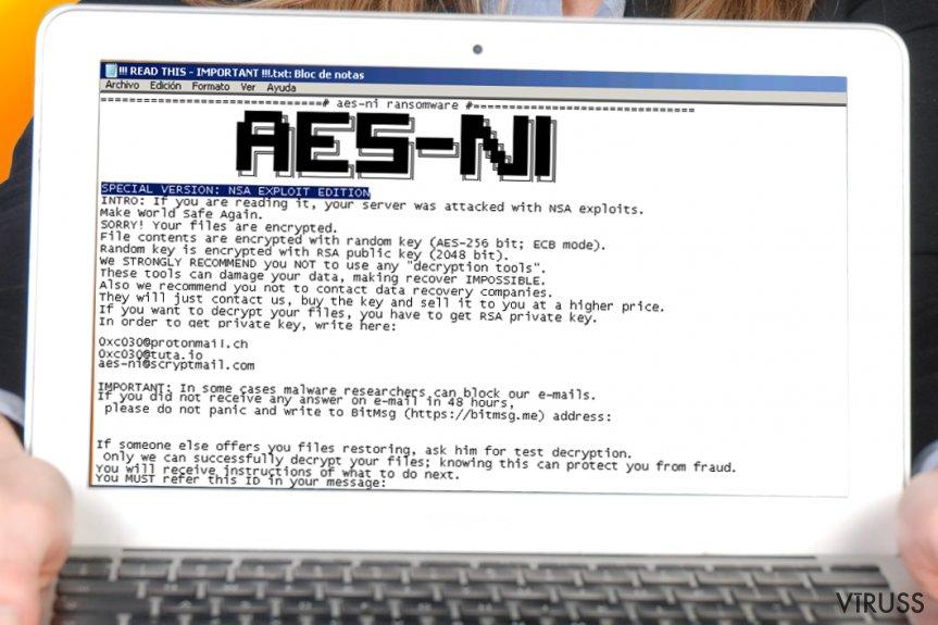 AES-NI izspiedējvīruss