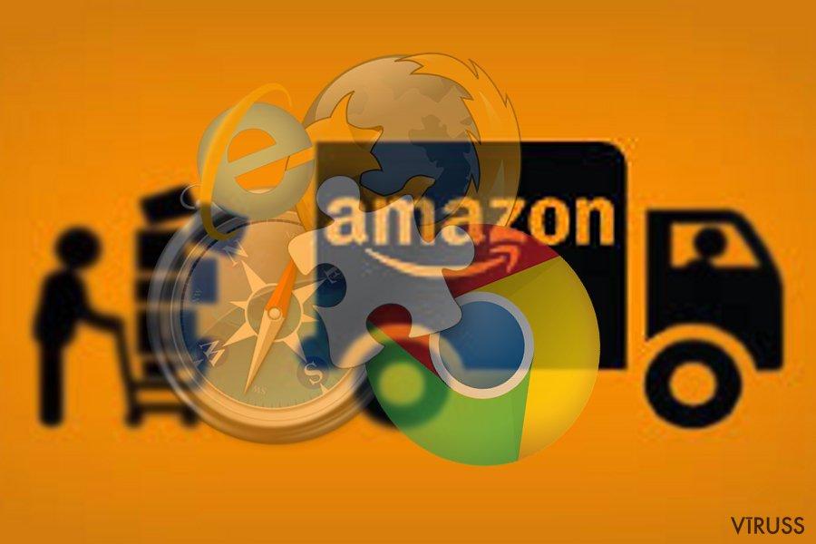 Attēls, kurā parādīts Amazon Assistant