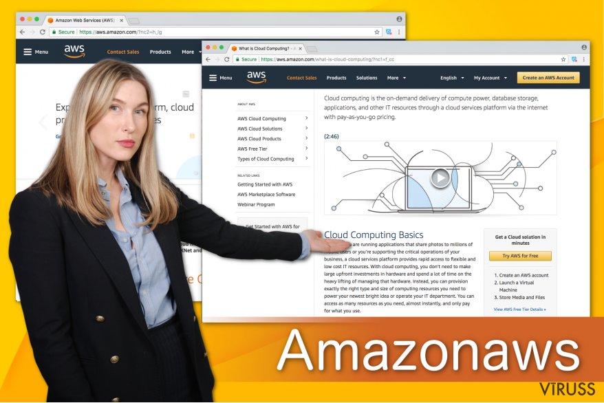 Amazonaws ilustrācija