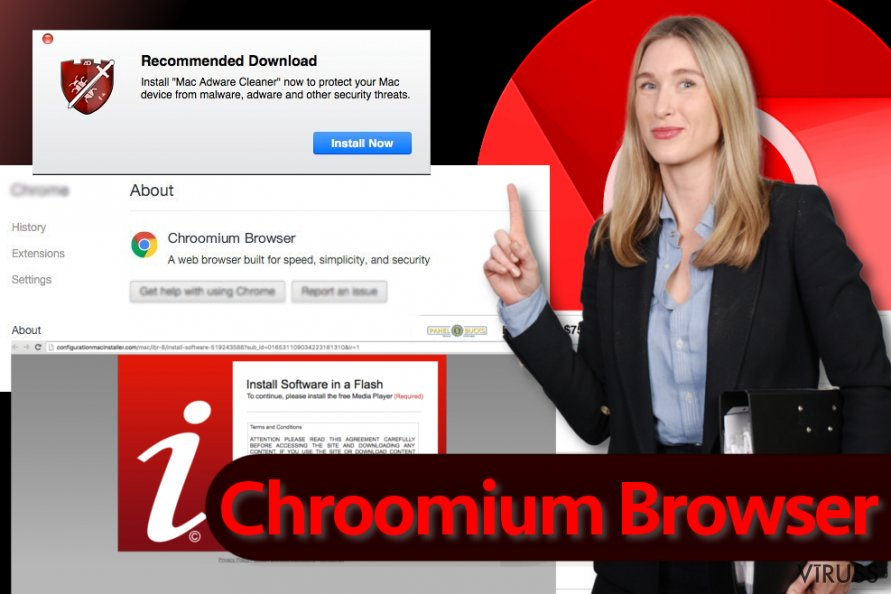 Chroomium Browser vīruss