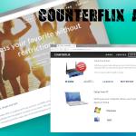 Counterflix reklāmas momentuzņēmums