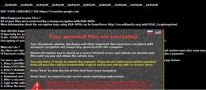 CryptXXX 3.0 ransomware virus