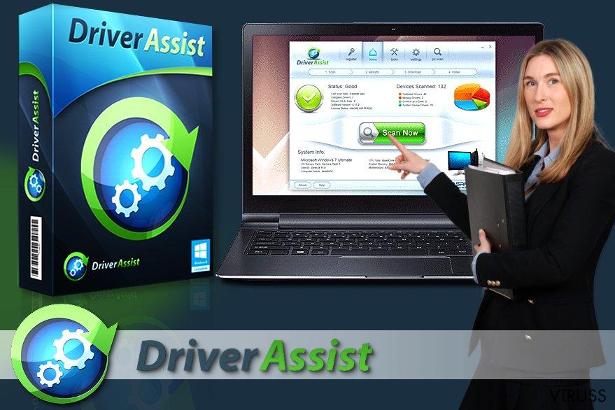 DriverAssist programmatūra