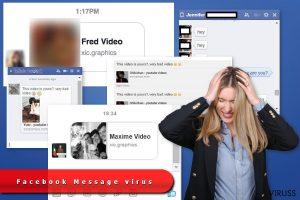 Facebook Messenger vīruss