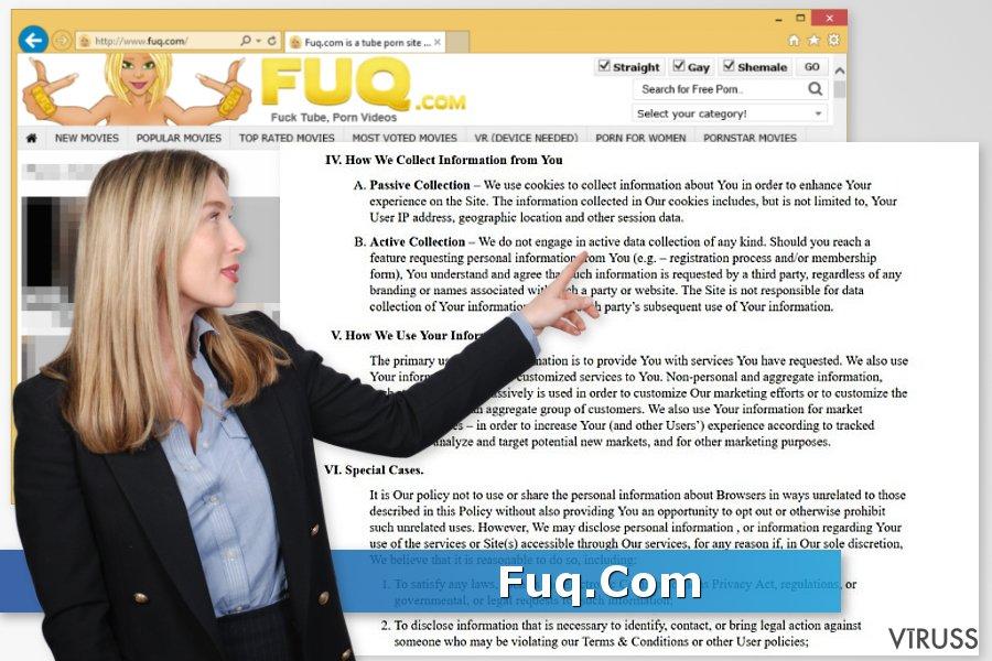 Fuq.Com vīruss momentuzņēmums