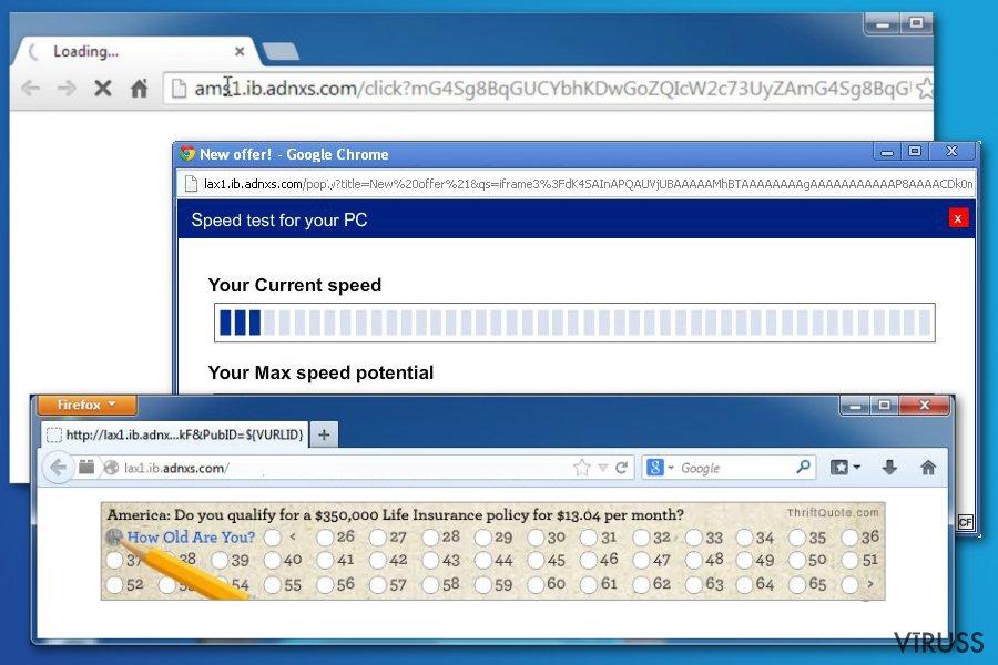 Ib.adnxs reklāmprogrammatūras attēls