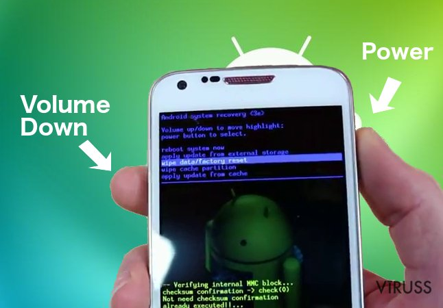 Android izspiedējprogrammatūra momentuzņēmums
