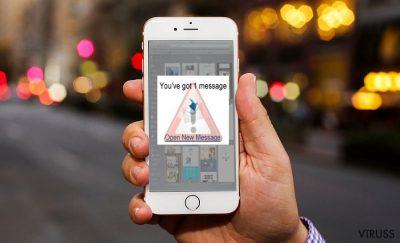iOS vīrusa attēls