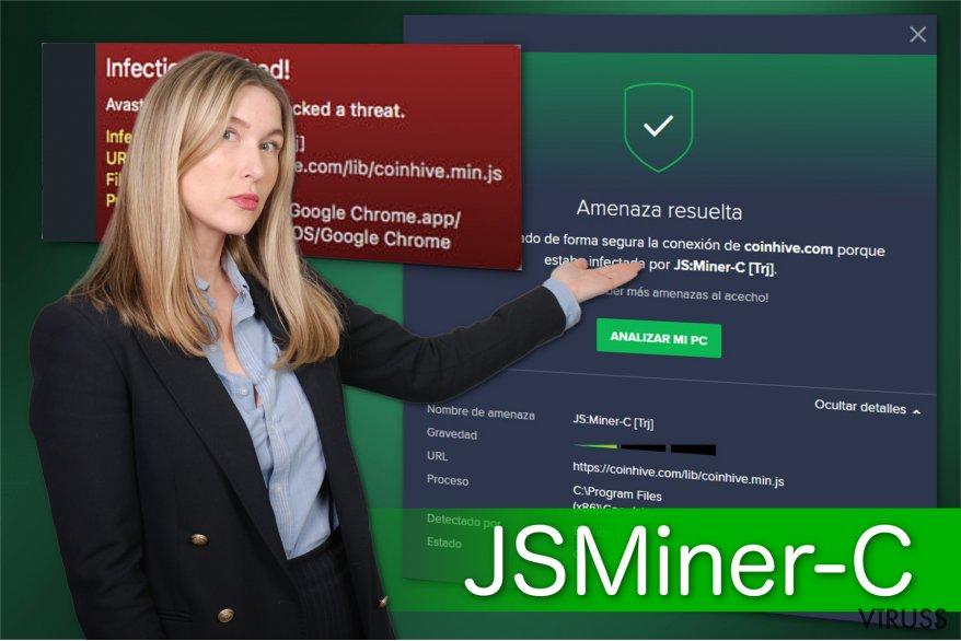 JSMiner-C trojas zirga attēls