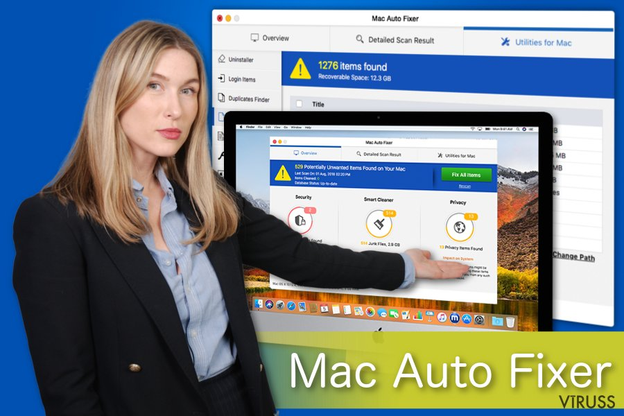 Attēls ar Mac Auto Fixer