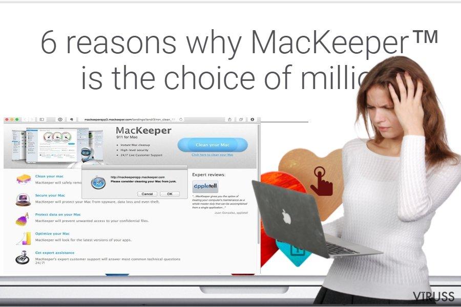 MacKeeper vīruss