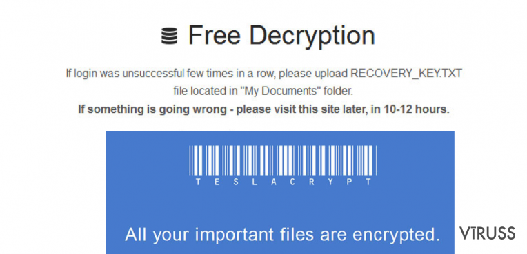 The picture showing .micro file extension virus
