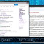 Mysearch vīruss momentuzņēmums