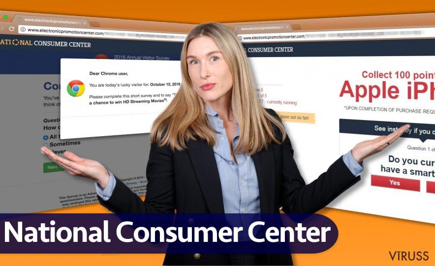 National Consumer Center reklāmas
