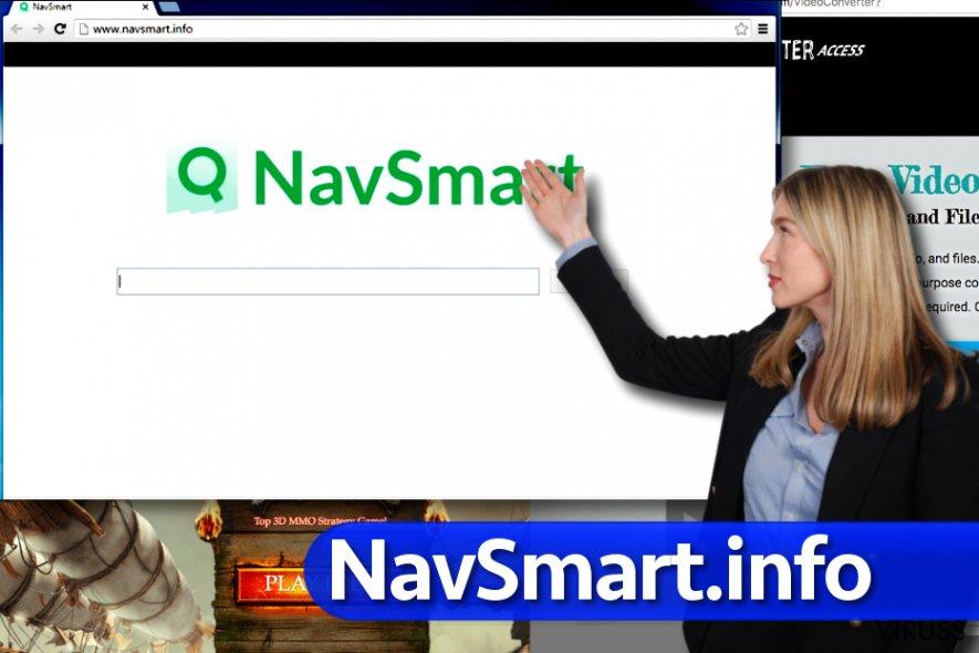 NavSmart.info vīruss momentuzņēmums