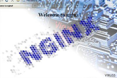 Nginx ļaunprogrammatūras attēls