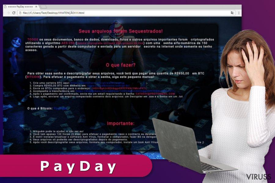 PayDay izspiedējvīruss