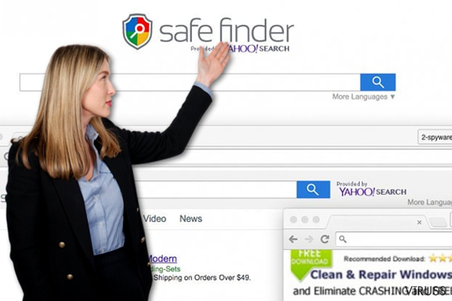 Safe Finder piemērs