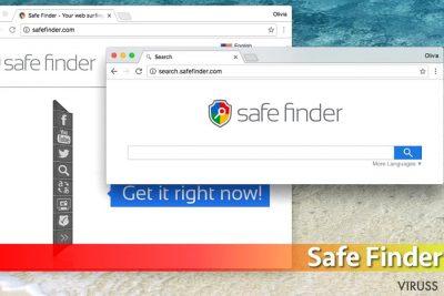 Safe Finder vīruss