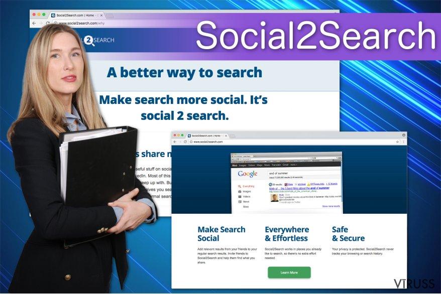 Social2Search reklāmas