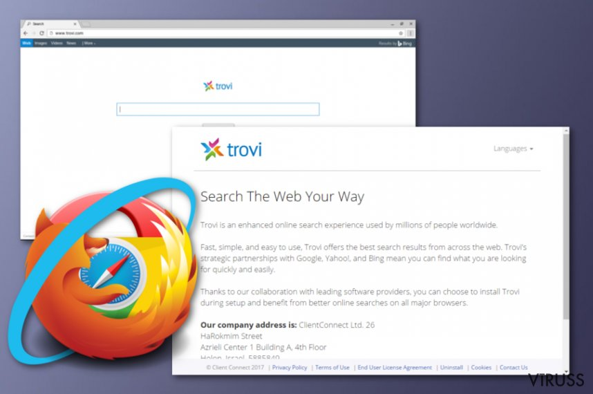 Trovi unwanted application