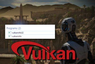 VulkanInfo 32 API