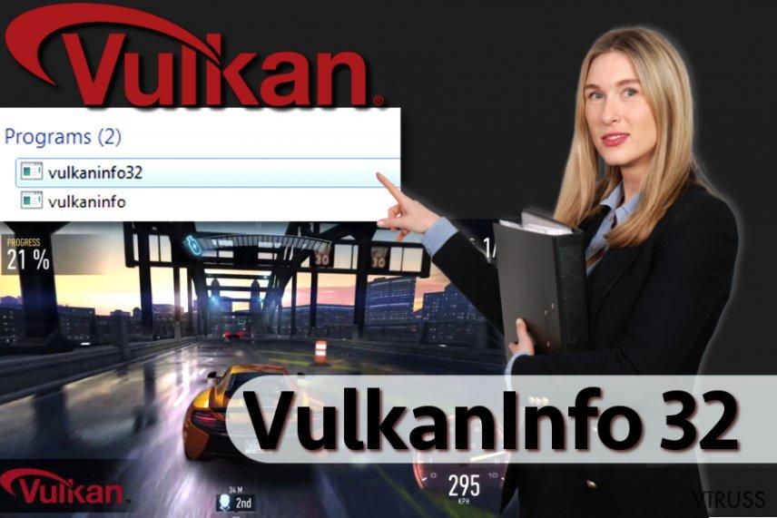 Vulkaninfo programmatūra