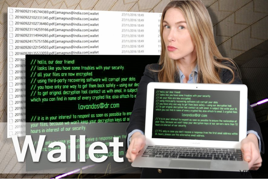 Wallet izspiedējvīrusa attēls