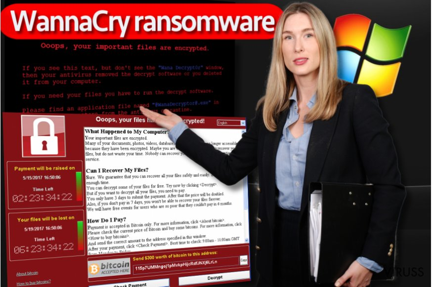 WannaCry izspiedējvīruss