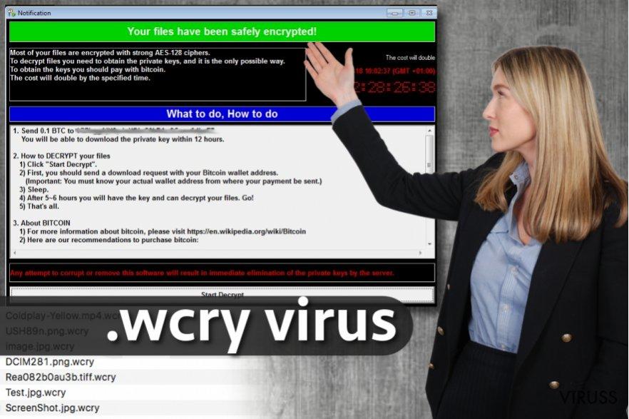 .wcry faila paplašinājuma vīruss